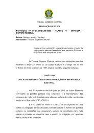 RESOLUÇÃO Nº 23.378 - Portal da Justiça Eleitoral