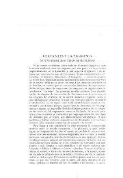 CERVANTES Y LA PICARESCA - Aleph Ciencias Sociales