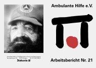 Arbeitsbericht Nr. 21 Ambulante Hilfe e.V. - Ambulante Hilfe Stuttgart