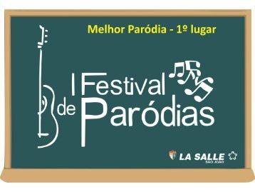 Confira os vencedores e as letras das paródias - Portal La Salle