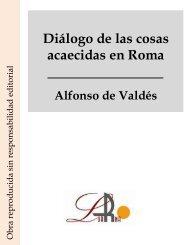 Diálogo de las cosas acaecidas en Roma.pdf - Ataun