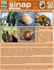 Boletin Sinap Tercera Edición - Parques Nacionales de Colombia