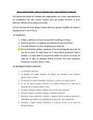 REGLAME TO DEL ÁREA EXTREMA DEL GRA BOSQUE URBA O ...