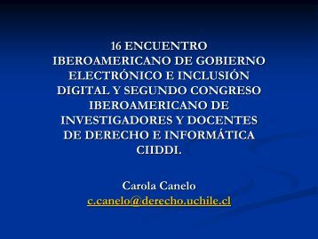 Ley de Delitos Informáticos y el Código Penal. - eGov UFSC
