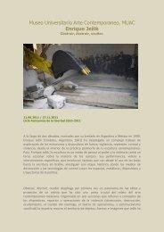MUAC / Enrique Jezik / Obstruir, destruir, ocultar. - Boek 861