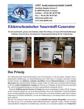Elektrochemischer Sauerstoff-Generator - AMT ...
