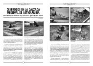destrozos en la calzada medieval de astigarribia - Ostolaza.org
