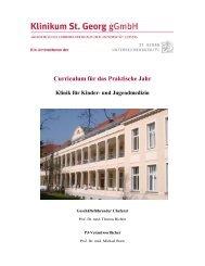 Curriculum Praktisches Jahr (pdf-Datei) - St. Georg