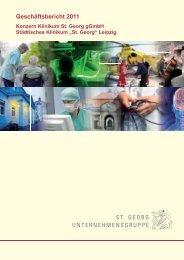 Geschäftsbericht 2011 - St. Georg