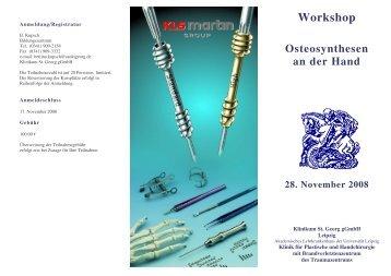 Workshop - St. Georg