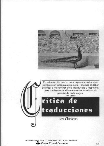 Reisebilder, de Heinrich Heine - Centro Virtual Cervantes