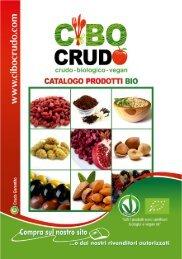 Catalogo generale prodotti CiboCrudo