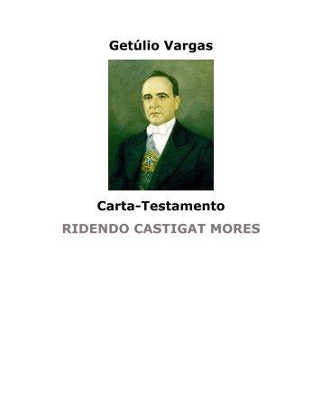 Carta Testamento - eBooksBrasil