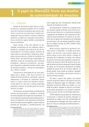 O papel do MacroZEE frente aos desafios da - Ministério do Meio ...