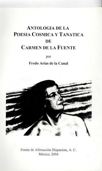 antologia de la poesia cosmica y tanatica - Frente de Afirmación ...