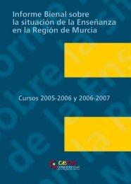 Informe Bienal 05-08.qxd:Maquetación 1 - Consejo Escolar de la ...