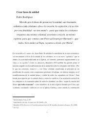 Crear lazos de unidad - Saint Josemaria Escriva
