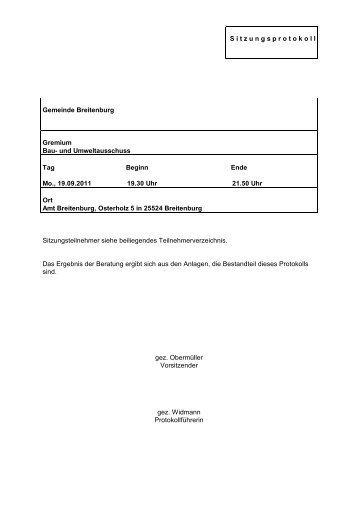 x - Amt Breitenburg