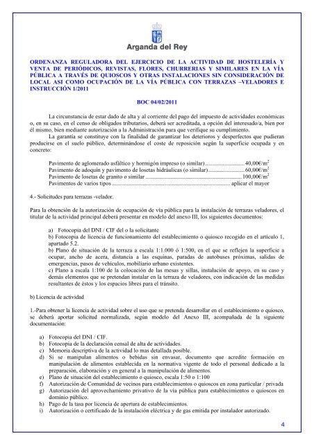 Ordenanza Reguladora Del