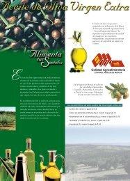Aceite de Oliva Virgen Extra - Murcia Alimenta tus Sentidos