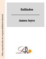 Exiliados James Joyce - Ataun