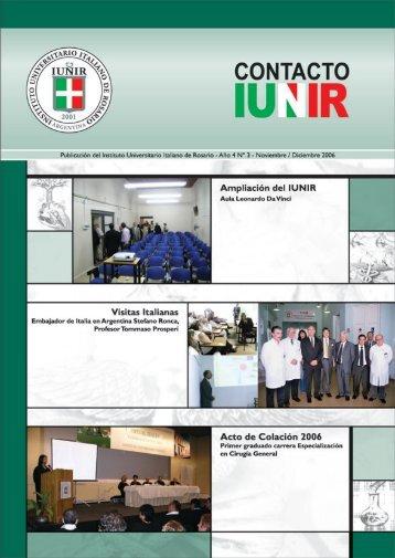 Año 4 Nº 3 - Instituto Universitario Italiano de Rosario