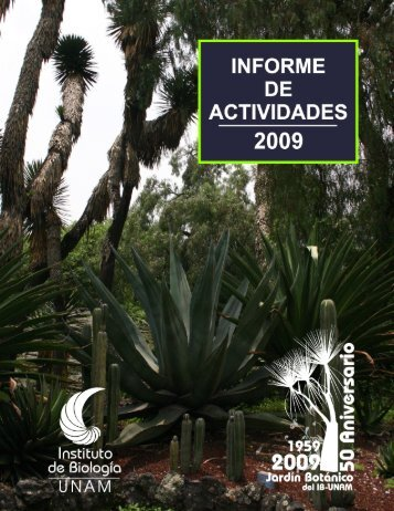 informe 2009_preliminares.pdf - UNAM
