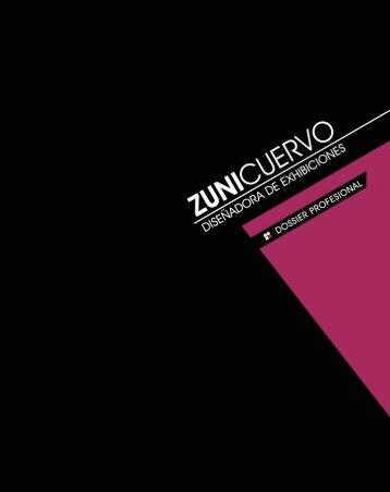 descargue aquí el dossier profesional en pdf - Zuni Cuervo