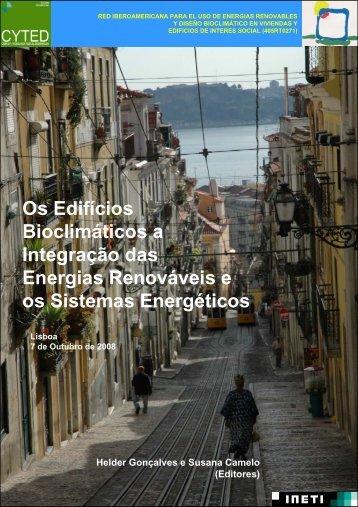 Os Edifícios Bioclimáticos a Integração das Energias ... - LNEG