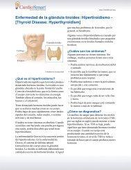 Enfermedad de la glándula tiroides: Hipertiroidismo ... - CardioSmart