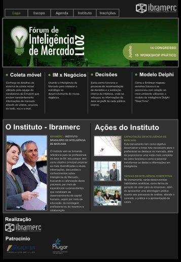 O Instituto - Ibramerc Ações do Instituto - SINDESP-RJ