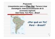 TLC Peru Brasil