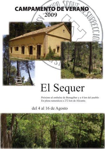 El Sequer - Grupo Scout Resurrección 433 - Alicante
