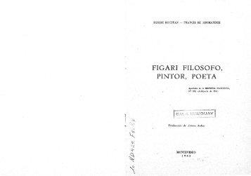 FIGARI FILOSOFO, PINTOR, POETA - Figuras