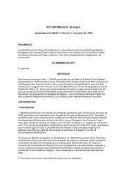 STC 86/1996 de 21 de mayo, publicada en el BOE nº150 de 21 de ...