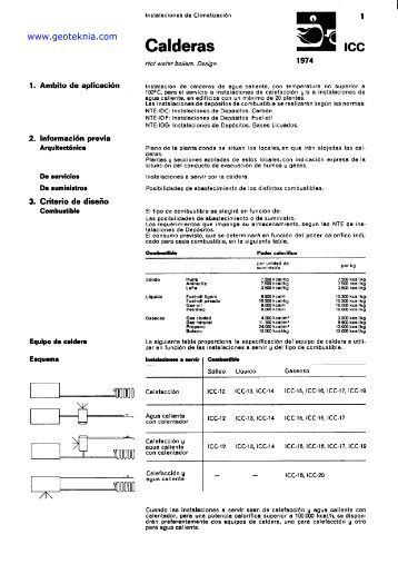 Calderas - SARALX