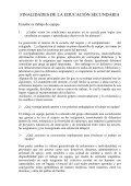 tema: los adolescentes y la escuela - Reforma de la Educación ... - Page 5