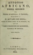 Affonso africano : poema heroico da presa d'Arzilla, e Tanger ... - Page 7