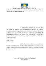 Intedição e Curatela - Ministério Público do Estado de Goiás
