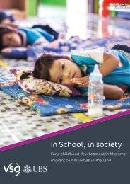 In School, in society