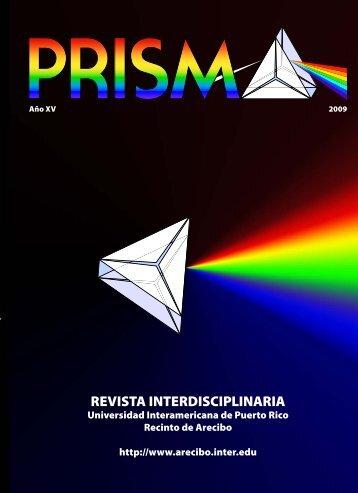 Revista Prisma (pdf) - Recinto de Arecibo - Universidad ...