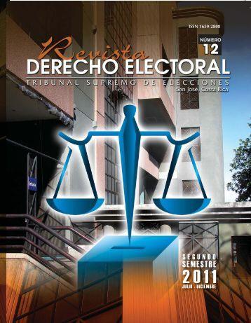 12 - Tribunal Supremo de Elecciones