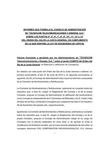 DON FELIX ESTER BUTRAGUEÑO, Secretario del ... - Tecnocom