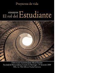 Ensayo. El rol del estudiante - Universidad Autonoma Juan Misael ...