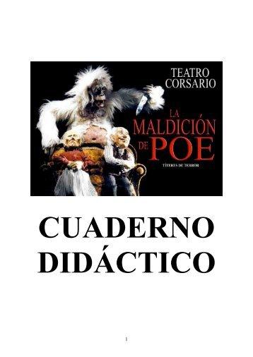 Cuaderno didáctico - Teatro Corsario