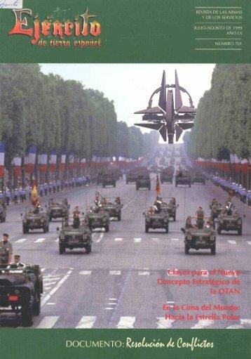 Nº 701 1999 Julio-Agosto - Portal de Cultura de Defensa