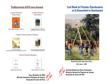 Los Retos del Periodo Introductorio en la ... - Scouts del Perú