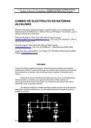 CAMBIO DE ELECTROLITO EN BATERIAS ALCALINAS - Uruman