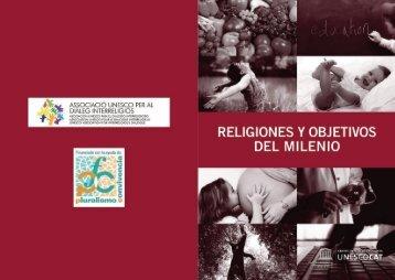 Religiones y Objetivos del Milenio - Centre UNESCO de Catalunya
