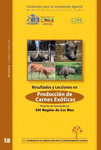 Producción de Carnes Exóticas - Biblioteca Digital ...